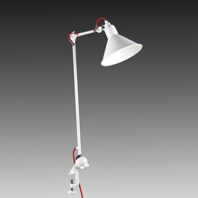 Lightstar LOFT 765926 Настольная лампаНа струбцине<br>Настольная лампа – это не просто источник дополнительного освещения, но и оригинальный элемент декора. Его можно установить в спальне, гостиной, кабинете и других комнатах. Интернет-магазин «Светодом» предлагает настольные лампы разных стилей по доступным ценам. Благодаря большому ассортименту Вы обязательно найдете в нашем каталоге именно ту модель, которую искали.   Настольная лампа Lightstar 765926 – прекрасный вариант для завершения интерьера. Ее можно включить одновременно с люстрой для более яркого освещения или без нее для создания уютной атмосферы, настраивающей на отдых.   Купить настольную лампу Lightstar 765926 Вы можете с помощью виртуальной «Корзины» или по контактным номерам, указанным на сайте.<br><br>Тип цоколя: E14<br>Количество ламп: 1<br>MAX мощность ламп, Вт: 40<br>Размеры: W  219-977 D плаф. 210 H 380-1095<br>Оттенок (цвет): белый<br>Цвет арматуры: белый