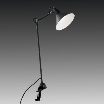 Lightstar LOFT 765927 Настольная лампаНа струбцине<br>Настольная лампа – это не просто источник дополнительного освещения, но и оригинальный элемент декора. Его можно установить в спальне, гостиной, кабинете и других комнатах. Интернет-магазин «Светодом» предлагает настольные лампы разных стилей по доступным ценам. Благодаря большому ассортименту Вы обязательно найдете в нашем каталоге именно ту модель, которую искали.   Настольная лампа Lightstar 765927 – прекрасный вариант для завершения интерьера. Ее можно включить одновременно с люстрой для более яркого освещения или без нее для создания уютной атмосферы, настраивающей на отдых.   Купить настольную лампу Lightstar 765927 Вы можете с помощью виртуальной «Корзины» или по контактным номерам, указанным на сайте.<br><br>Тип цоколя: E14<br>Цвет арматуры: черный<br>Количество ламп: 1<br>Размеры: W  219-977 D плаф. 210 H 380-1095<br>Оттенок (цвет): черный<br>MAX мощность ламп, Вт: 40