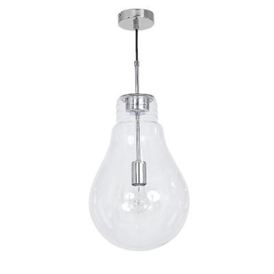 Luminex BULBO 7692 потолочный светильникпотолочные люстры лофт<br>Компания «Светодом» предлагает широкий ассортимент люстр от известных производителей. Представленные в нашем каталоге товары выполнены из современных материалов и обладают отличным качеством. Благодаря широкому ассортименту Вы сможете найти у нас люстру под любой интерьер. Мы предлагаем как классические варианты, так и современные модели, отличающиеся лаконичностью и простотой форм.  Стильная люстра Luminex 7692 станет украшением любого дома. Эта модель от известного производителя не оставит равнодушным ценителей красивых и оригинальных предметов интерьера. Люстра Luminex 7692 обеспечит равномерное распределение света по всей комнате. При выборе обратите внимание на характеристики, позволяющие приобрести наиболее подходящую модель. Купить понравившуюся люстру по доступной цене Вы можете в интернет-магазине «Светодом».<br><br>Установка на натяжной потолок: Да<br>S освещ. до, м2: 3<br>Крепление: Потолочное<br>Тип цоколя: E27<br>Цвет арматуры: серебристый хром<br>Количество ламп: 1<br>Диаметр, мм мм: 250<br>Размеры: размер коробки 56x30x30см.<br>Высота, мм: 1000<br>MAX мощность ламп, Вт: 60