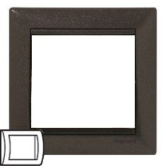 Legrand Valena Модерн Рамка 1-ая 770001Цветные<br><br><br>Оттенок (цвет): коричневый