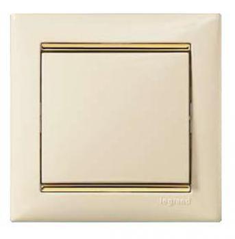 Legrand Valena Крем/Золото Рамка 1-ая 774151Цветные<br><br><br>Оттенок (цвет): бежевый
