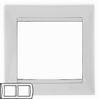 Legrand Valena Белый Рамка 2-ая гориз 774452Белый  <br><br><br>Оттенок (цвет): белый
