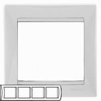 Legrand Valena Белый Рамка 4-ая гориз 774454Белый  <br><br><br>Оттенок (цвет): белый