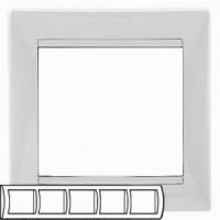 Legrand Valena Белый Рамка 5-ая гориз 774455Белый  <br><br><br>Тип товара: Рамка<br>Скидка, %: 23<br>Оттенок (цвет): белый