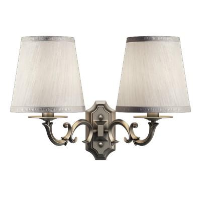 Lightstar ENGENUO 779528 Светильник настенный браКлассические<br><br><br>S освещ. до, м2: 6<br>Крепление: настенное<br>Тип лампы: накаливания / энергосбережения / LED-светодиодная<br>Тип цоколя: E14<br>Цвет арматуры: бронзовый<br>Количество ламп: 2<br>Ширина, мм: 380<br>Размеры: H 310 W 180x380<br>Высота, мм: 310<br>Оттенок (цвет): белый<br>MAX мощность ламп, Вт: 40