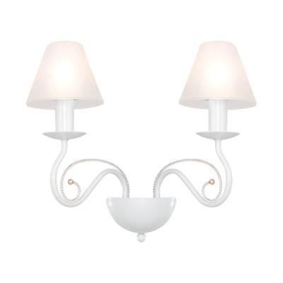 Lightstar ESEDRA 782620 Светильник настенный браСовременные<br><br><br>S освещ. до, м2: 5<br>Тип лампы: накаливания / энергосбережения / LED-светодиодная<br>Тип цоколя: E14<br>Количество ламп: 2<br>Ширина, мм: 380<br>MAX мощность ламп, Вт: 40<br>Размеры: L410 W320 H230<br>Расстояние от стены, мм: 210<br>Высота, мм: 300<br>Оттенок (цвет): белый<br>Цвет арматуры: белый