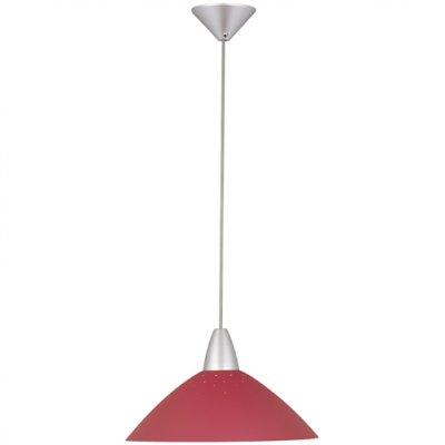 Подвес Brilliant 78270/01 LogoОдиночные<br>Зачастую мы ищем идеальное освещение для своего дома и уделяем этому достаточно много времени. Так, например, если нам нужен светильник с количеством ламп - 1 и цвет плафонов должен быть - красный, а материал плафонов только пластик! То нам, как вариант, подойдет модель подвесного светильника Brilliant 78270/01.<br><br>S освещ. до, м2: 6<br>Тип лампы: накаливания / энергосбережения / LED-светодиодная<br>Тип цоколя: E27<br>Цвет арматуры: серебристый<br>Количество ламп: 1<br>Диаметр, мм мм: 350<br>MAX мощность ламп, Вт: 100