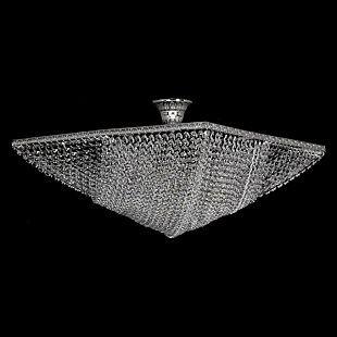 Хрустальная люстра Arti Lampadari Nobile E 1.3.50.502 N (782A-PT50x50-N-M02)Потолочные<br><br><br>Установка на натяжной потолок: Ограничено<br>S освещ. до, м2: 24<br>Крепление: Планка<br>Тип товара: Люстра<br>Тип лампы: накаливания / энергосбережения / LED-светодиодная<br>Тип цоколя: E27<br>Количество ламп: 8<br>MAX мощность ламп, Вт: 60<br>Диаметр, мм мм: 500<br>Высота, мм: 220<br>Цвет арматуры: серый