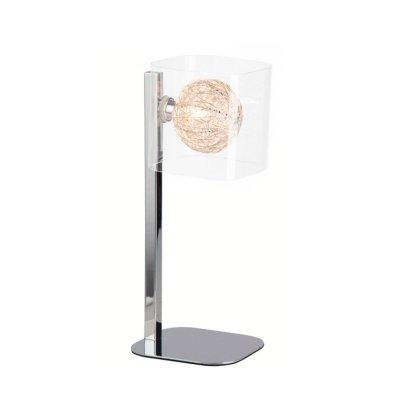 Лампа настольная Brilliant G78348/15 FlorentinХай тек<br>Зачастую мы ищем идеальное освещение для своего дома и уделяем этому достаточно много времени. Так, например, если нам нужен светильник с количеством ламп - 1 и цвет плафонов должен быть - разноцветный: алюминий, неокрашенный, а материал плафонов только металл, стекло! То нам, как вариант, подойдет модель - лампа настольная Brilliant G78348/15.<br><br>S освещ. до, м2: 2<br>Тип лампы: галогенная / LED-светодиодная<br>Тип цоколя: G9<br>Количество ламп: 1<br>Ширина, мм: 120<br>MAX мощность ламп, Вт: 42<br>Выступ, мм: 155<br>Высота, мм: 340<br>Цвет арматуры: серебристый