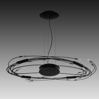 Lightstar OVALE 784347 СветильникПодвесные<br>Компания «Светодом» предлагает широкий ассортимент люстр от известных производителей. Представленные в нашем каталоге товары выполнены из современных материалов и обладают отличным качеством. Благодаря широкому ассортименту Вы сможете найти у нас люстру под любой интерьер. Мы предлагаем как классические варианты, так и современные модели, отличающиеся лаконичностью и простотой форм.  Стильная люстра Lightstar 784347 станет украшением любого дома. Эта модель от известного производителя не оставит равнодушным ценителей красивых и оригинальных предметов интерьера. Люстра Lightstar 784347 обеспечит равномерное распределение света по всей комнате. При выборе обратите внимание на характеристики, позволяющие приобрести наиболее подходящую модель. Купить понравившуюся люстру по доступной цене Вы можете в интернет-магазине «Светодом». Мы предлагаем доставку не только по Москве и Екатеринбурге, но и по всей России.<br><br>Установка на натяжной потолок: Да<br>S освещ. до, м2: 24<br>Крепление: Планка<br>Тип лампы: галогенная/LED<br>Тип цоколя: G4<br>Цвет арматуры: черный<br>Количество ламп: 24<br>Ширина, мм: 570<br>Длина, мм: 1020<br>Высота, мм: 130 - 1065<br>MAX мощность ламп, Вт: 20