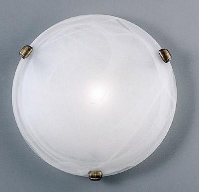 Eglo SALOME 7902 Настенно-потолочный светильникКруглые<br>Настенно потолочный светильник Eglo (Эгло) 7902 подходит как для установки в вертикальном положении - на стены, так и для установки в горизонтальном - на потолок. Для установки настенно потолочных светильников на натяжной потолок необходимо использовать светодиодные лампы LED, которые экономнее ламп Ильича (накаливания) в 10 раз, выделяют мало тепла и не дадут расплавиться Вашему потолку.<br><br>S освещ. до, м2: 6<br>Тип лампы: накаливания / энергосбережения / LED-светодиодная<br>Тип цоколя: E27<br>Количество ламп: 1<br>MAX мощность ламп, Вт: 2<br>Диаметр, мм мм: 300<br>Размеры основания, мм: 0<br>Расстояние от стены, мм: 90<br>Оттенок (цвет): белый<br>Цвет арматуры: бронзовый<br>Общая мощность, Вт: 1X60W