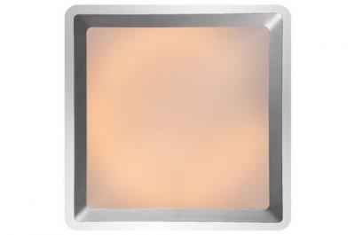 потолочный светильник Lucide 79156/32/12 GENTLYКвадратные<br>Настенно-потолочные светильники – это универсальные осветительные варианты, которые подходят для вертикального и горизонтального монтажа. В интернет-магазине «Светодом» Вы можете приобрести подобные модели по выгодной стоимости. В нашем каталоге представлены как бюджетные варианты, так и эксклюзивные изделия от производителей, которые уже давно заслужили доверие дизайнеров и простых покупателей.  Настенно-потолочный светильник Lucide 79156/32/12 станет прекрасным дополнением к основному освещению. Благодаря качественному исполнению и применению современных технологий при производстве эта модель будет радовать Вас своим привлекательным внешним видом долгое время. Приобрести настенно-потолочный светильник Lucide 79156/32/12 можно, находясь в любой точке России.<br><br>S освещ. до, м2: 2<br>Тип лампы: люминесцентная<br>Тип цоколя: G13<br>Цвет арматуры: серебристый<br>Количество ламп: 1<br>Ширина, мм: 4300<br>Длина, мм: 430<br>Оттенок (цвет): белый<br>MAX мощность ламп, Вт: 32