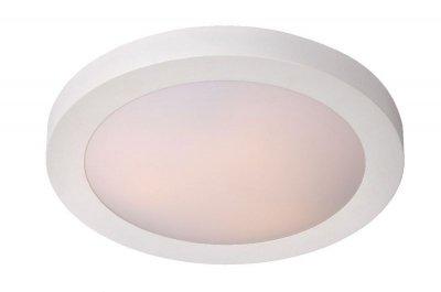 светильники для ванной Lucide 79158/02/31 FRESHбра для ванной<br><br><br>S освещ. до, м2: 2<br>Тип лампы: накаливания / энергосбережения / LED-светодиодная<br>Тип цоколя: E27<br>Цвет арматуры: белый<br>Количество ламп: 2<br>Диаметр, мм мм: 350<br>Высота, мм: 80<br>Оттенок (цвет): белый<br>MAX мощность ламп, Вт: 20