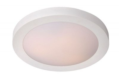 светильники для ванной Lucide 79158/03/31 FRESHбра для ванной<br><br><br>S освещ. до, м2: 4<br>Тип лампы: накаливания / энергосбережения / LED-светодиодная<br>Тип цоколя: E27<br>Цвет арматуры: белый<br>Количество ламп: 3<br>Диаметр, мм мм: 410<br>Высота, мм: 80<br>Оттенок (цвет): белый<br>MAX мощность ламп, Вт: 20