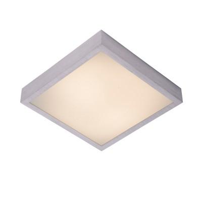 Светильник Lucide 79167/18/12Квадратные<br>Настенно-потолочные светильники – это универсальные осветительные варианты, которые подходят для вертикального и горизонтального монтажа. В интернет-магазине «Светодом» Вы можете приобрести подобные модели по выгодной стоимости. В нашем каталоге представлены как бюджетные варианты, так и эксклюзивные изделия от производителей, которые уже давно заслужили доверие дизайнеров и простых покупателей.  Настенно-потолочный светильник Lucide 79167/18/12 станет прекрасным дополнением к основному освещению. Благодаря качественному исполнению и применению современных технологий при производстве эта модель будет радовать Вас своим привлекательным внешним видом долгое время. Приобрести настенно-потолочный светильник Lucide 79167/18/12 можно, находясь в любой точке России.<br><br>S освещ. до, м2: 7<br>Тип лампы: LED<br>Тип цоколя: LED<br>Цвет арматуры: серебристый хром<br>Ширина, мм: 360<br>Длина, мм: 360<br>Высота, мм: 93<br>MAX мощность ламп, Вт: 18