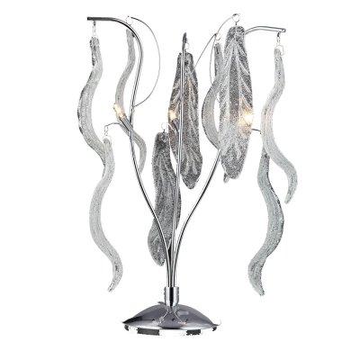 Lightstar VETRO 793934 Настольная лампаФлористика<br>Настольная лампа – это не просто источник дополнительного освещения, но и оригинальный элемент декора. Его можно установить в спальне, гостиной, кабинете и других комнатах. Интернет-магазин «Светодом» предлагает настольные лампы разных стилей по доступным ценам. Благодаря большому ассортименту Вы обязательно найдете в нашем каталоге именно ту модель, которую искали.   Настольная лампа Lightstar 793934 – прекрасный вариант для завершения интерьера. Ее можно включить одновременно с люстрой для более яркого освещения или без нее для создания уютной атмосферы, настраивающей на отдых.   Купить настольную лампу Lightstar 793934 Вы можете с помощью виртуальной «Корзины» или по контактным номерам, указанным на сайте.<br><br>Тип цоколя: G4<br>Цвет арматуры: серебристый<br>Количество ламп: 3<br>Размеры: W300 H470<br>MAX мощность ламп, Вт: 20