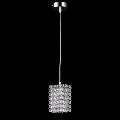 Lightstar CRISTALLO 795414 Светильник подвеснойОдиночные<br><br><br>Тип товара: Светильник подвесной<br>Тип лампы: галогенная / LED-светодиодная<br>Тип цоколя: G9<br>Количество ламп: 1<br>Ширина, мм: 100<br>MAX мощность ламп, Вт: 40<br>Размеры: H min-max200-1200 W100 L100<br>Длина цепи/провода, мм: 200 - 1200<br>Длина, мм: 100<br>Высота, мм: 150<br>Цвет арматуры: серебристый