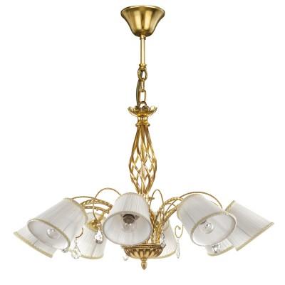 Lightstar ESEDRA 796183 ЛюстраПодвесные<br><br><br>Тип товара: Люстра<br>Тип цоколя: E14<br>Количество ламп: 8<br>MAX мощность ламп, Вт: 40<br>Диаметр, мм мм: 870<br>Высота, мм: 540 - 1365