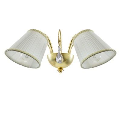 Lightstar ESEDRA 796623 Светильник браКлассика<br><br><br>Тип товара: Светильник бра<br>Тип цоколя: E14<br>Количество ламп: 2<br>Ширина, мм: 420<br>MAX мощность ламп, Вт: 40<br>Расстояние от стены, мм: 240<br>Высота, мм: 200