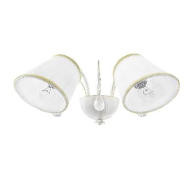 Светильник Lightstar 796626классические бра<br>Высота min-max (см): 20 ; Ширина (см):42 ; Глубина (см): 24;  Вес (кг): 1; Кол-во ламп: 2xE27; Мощность max (W): 40; Цвет основания/цвет стекла или абажура: Antic white;<br><br>Тип лампы: Накаливания / энергосбережения / светодиодная<br>Тип цоколя: E27<br>Цвет арматуры: белый<br>Количество ламп: 2<br>Ширина, мм: 420<br>Расстояние от стены, мм: 240<br>Высота, мм: 200<br>Поверхность арматуры: матовая<br>Оттенок (цвет): белый<br>MAX мощность ламп, Вт: 40