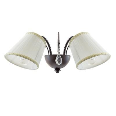 Lightstar ESEDRA 796628 Светильник браКлассические<br><br><br>Тип цоколя: E14<br>Количество ламп: 2<br>Ширина, мм: 420<br>Расстояние от стены, мм: 240<br>Высота, мм: 200<br>MAX мощность ламп, Вт: 40