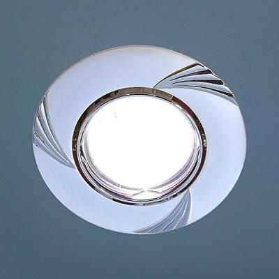 8004A PS/N (перламутр. серебро / никель) Электростандарт Точечный светильникТочечные светильники круглые<br>Лампа: MR16 G5.3 max 50 Вт Диаметр: ? 90 мм Высота внутренней части: ? 20 мм Высота внешней части: ? 4 мм Монтажное отверстие: ? 76 мм Гарантия: 2 года Светильник имеет поворотный механизм<br><br>S освещ. до, м2: 3<br>Тип лампы: галогенная<br>Тип цоколя: gu5.3<br>Цвет арматуры: серебристый<br>Количество ламп: 1<br>Диаметр, мм мм: 90<br>Диаметр врезного отверстия, мм: 75<br>Оттенок (цвет): перламутр серебро<br>MAX мощность ламп, Вт: 50