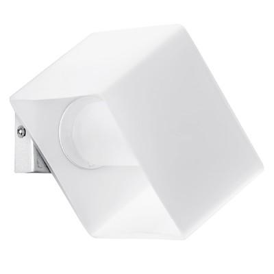 Lightstar SIMPLE LIGHT 801610 Светильник настенный браХай-тек<br>Данная модель светильника имеет возможность поворота вокруг своей оси. тем самым Вы сможете управлять потоком более яркого света в удобном для Вас направлении<br><br>S освещ. до, м2: 3<br>Крепление: настенное<br>Тип лампы: галогенная / LED-светодиодная<br>Тип цоколя: G9<br>Количество ламп: 1<br>Ширина, мм: 100<br>MAX мощность ламп, Вт: 40<br>Размеры: W 100 H 70<br>Расстояние от стены, мм: 125<br>Высота, мм: 75<br>Оттенок (цвет): белый<br>Цвет арматуры: серебристый