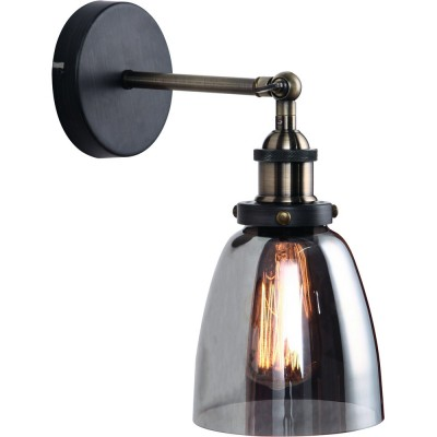 Светильник Divinare 8017/01 AP-1Современные<br><br><br>Тип цоколя: E27<br>Количество ламп: 1<br>Ширина, мм: 150<br>MAX мощность ламп, Вт: 40<br>Диаметр, мм мм: 240<br>Высота, мм: 310<br>Цвет арматуры: серебристый антик