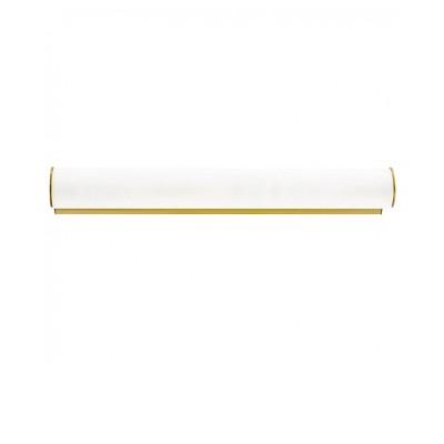 Настенный светильник Lightstar 801833 Blandaсовременные бра модерн<br>Высота min-max (см): 6; Ширина (см): 50; Глубина: 10; Вес (кг): 0,85; Кол-во ламп: 3хЕ14; Мощность max (W): 40; Цвет основания/цвет стекла или абажура: White/gold;<br><br>Тип лампы: Накаливания / энергосбережения / светодиодная<br>Тип цоколя: E14<br>Цвет арматуры: золотой<br>Количество ламп: 3<br>Ширина, мм: 500<br>Диаметр, мм мм: 60<br>Длина, мм: 100<br>Расстояние от стены, мм: 100<br>Высота, мм: 60<br>Поверхность арматуры: блестящая<br>Оттенок (цвет): золотой<br>MAX мощность ламп, Вт: 40<br>Общая мощность, Вт: 120