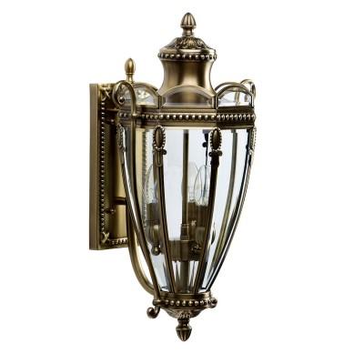 Светильник влагозащищенный Chiaro 802020903 МидосНастенные<br>Описание модели 802020903: Элегантный уличный светильник из коллекции Мидос станет достойным украшением роскошных садово-парковых ансамблей и продемонстрирует отличный вкус при оформлении интерьерных зон соответствующего стиля. Благодаря использованию  благородной латуни, декор фонарей выглядит особенным, с тщательно проработанными  деталями. Рекомендуемая площадь освещения светильника из коллекции Мидос составляет от 9 кв.м.<br><br>S освещ. до, м2: 9<br>Тип лампы: Накаливания / энергосбережения / светодиодная<br>Тип цоколя: E14<br>Цвет арматуры: бронзовый<br>Количество ламп: 3<br>Ширина, мм: 330<br>Длина, мм: 550<br>Высота, мм: 280<br>Поверхность арматуры: матовый<br>MAX мощность ламп, Вт: 60<br>Общая мощность, Вт: 180