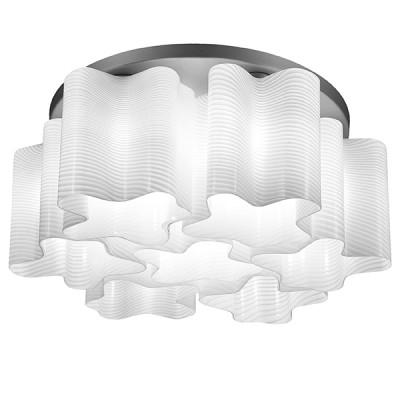 Lightstar Denver 802071 ЛюстраПотолочные<br>Компания «Светодом» предлагает широкий ассортимент люстр от известных производителей. Представленные в нашем каталоге товары выполнены из современных материалов и обладают отличным качеством. Благодаря широкому ассортименту Вы сможете найти у нас люстру под любой интерьер. Мы предлагаем как классические варианты, так и современные модели, отличающиеся лаконичностью и простотой форм. <br>Стильная люстра Lightstar 802071 станет украшением любого дома. Эта модель от известного производителя не оставит равнодушным ценителей красивых и оригинальных предметов интерьера. Люстра Lightstar 802071 обеспечит равномерное распределение света по всей комнате. При выборе обратите внимание на характеристики, позволяющие приобрести наиболее подходящую модель. <br>Купить понравившуюся люстру по доступной цене Вы можете в интернет-магазине «Светодом».<br><br>Установка на натяжной потолок: Ограничено<br>S освещ. до, м2: 18<br>Крепление: Планка<br>Тип лампы: накаливания / энергосбережения / LED-светодиодная<br>Тип цоколя: E27<br>Количество ламп: 7<br>MAX мощность ламп, Вт: 40<br>Диаметр, мм мм: 550<br>Размеры основания, мм: 450<br>Размеры: D550 H230<br>Высота, мм: 230<br>Оттенок (цвет): белый<br>Цвет арматуры: серебристый
