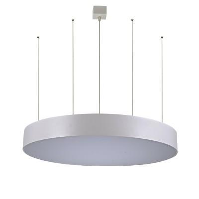Светильник Divinare 8021/96 SP-1Подвесные<br><br><br>Установка на натяжной потолок: Да<br>S освещ. до, м2: 61<br>Тип цоколя: LED<br>Количество ламп: 1<br>MAX мощность ламп, Вт: 152W<br>Диаметр, мм мм: 960<br>Высота, мм: 1620