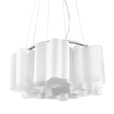 Lightstar Nubi 802160 Люстра подвеснаяПодвесные<br>Компания «Светодом» предлагает широкий ассортимент люстр от известных производителей. Представленные в нашем каталоге товары выполнены из современных материалов и обладают отличным качеством. Благодаря широкому ассортименту Вы сможете найти у нас люстру под любой интерьер. Мы предлагаем как классические варианты, так и современные модели, отличающиеся лаконичностью и простотой форм. <br>Стильная люстра Lightstar 802160 станет украшением любого дома. Эта модель от известного производителя не оставит равнодушным ценителей красивых и оригинальных предметов интерьера. Люстра Lightstar 802160 обеспечит равномерное распределение света по всей комнате. При выборе обратите внимание на характеристики, позволяющие приобрести наиболее подходящую модель. <br>Купить понравившуюся люстру по доступной цене Вы можете в интернет-магазине «Светодом».<br><br>Установка на натяжной потолок: Да<br>S освещ. до, м2: 16<br>Крепление: Планка<br>Тип лампы: накаливания / энергосбережения / LED-светодиодная<br>Тип цоколя: E27<br>Количество ламп: 6<br>MAX мощность ламп, Вт: 40<br>Диаметр, мм мм: 540<br>Размеры основания, мм: 200<br>Размеры: D 540 H 400-900<br>Высота, мм: 900<br>Оттенок (цвет): белый<br>Цвет арматуры: серебристый
