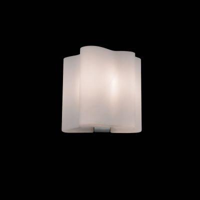 Lightstar Simple Light 802610 Светильник настенный браХай-тек<br><br><br>S освещ. до, м2: 2<br>Тип цоколя: E14<br>Количество ламп: 1<br>Ширина, мм: 190<br>MAX мощность ламп, Вт: 40<br>Размеры: W 190 L 160 H 200<br>Длина, мм: 160<br>Высота, мм: 200<br>Оттенок (цвет): белый<br>Цвет арматуры: серебристый