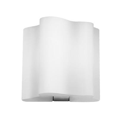 Lightstar Nubi 802610 Светильник настенный браХай-тек<br><br><br>S освещ. до, м2: 2<br>Тип цоколя: E14<br>Количество ламп: 1<br>Ширина, мм: 190<br>MAX мощность ламп, Вт: 40<br>Размеры: W 190 L 160 H 200<br>Длина, мм: 160<br>Высота, мм: 200<br>Оттенок (цвет): белый<br>Цвет арматуры: серебристый