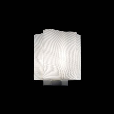 Lightstar Denver 802611 Светильник настенный браМодерн<br><br><br>S освещ. до, м2: 2<br>Тип цоколя: E14<br>Количество ламп: 1<br>MAX мощность ламп, Вт: 40<br>Размеры: H 200 D 190<br>Оттенок (цвет): белый<br>Цвет арматуры: серебристый