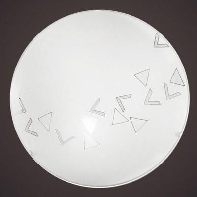 Eglo MARS 80263 Настенно-потолочный светильникКруглые<br>Австрийское качество модели светильника Eglo 80263 не оставит равнодушным каждого купившего! Матовое закаленное стекло(пр-во Чехия) вытравленный рисунок , основание сталь с защитным покрытием. Класс изоляции 2 (двойная изоляция), IP 20, освещенность 806 lm ,D=245,1X60W,E27.<br><br>S освещ. до, м2: 4<br>Тип лампы: накаливания / энергосбережения / LED-светодиодная<br>Тип цоколя: E27<br>Количество ламп: 1<br>MAX мощность ламп, Вт: 2<br>Диаметр, мм мм: 245<br>Размеры основания, мм: 0<br>Оттенок (цвет): дизайн треугольники<br>Цвет арматуры: белый<br>Общая мощность, Вт: 1X60W