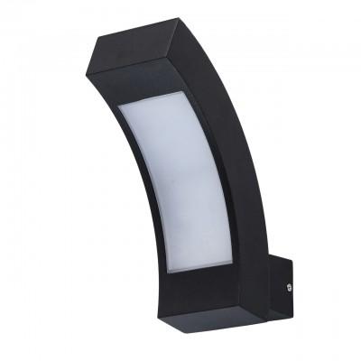 803021001 Mw light СветильникУличные настенные светильники<br><br><br>Тип лампы: LED<br>Ширина, мм: 85<br>Длина, мм: 220<br>Высота, мм: 200<br>MAX мощность ламп, Вт: 6
