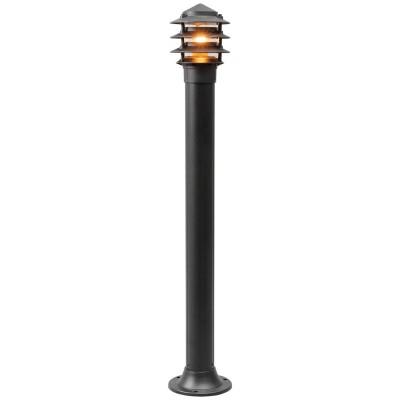 Светильник влагозащищенный Mw light 803040601 УранОдиночные столбы<br>Описание модели 803040601: Простой и строгий дизайн, чёткие формы – этим привлекает светильник из коллекции «Уран». Алюминиевое основание чёрного цвета хорошо смотрится в тандеме с акриловым плафоном и декоративными элементами из алюминия. Благодаря сдержанной цветовой гамме и нейтральному оформлению этот светильник удачно дополнит обстановку экстерьера, не перегружая её лишними деталями. Рекомендуемая площадь освещения 3 кв.м.<br><br>S освещ. до, м2: 3<br>Тип лампы: накаливания / энергосбережения / LED-светодиодная<br>Тип цоколя: Е27<br>Цвет арматуры: черный<br>Количество ламп: 1<br>Диаметр, мм мм: 170<br>Высота, мм: 990<br>Поверхность арматуры: матовый<br>MAX мощность ламп, Вт: 60<br>Общая мощность, Вт: 60