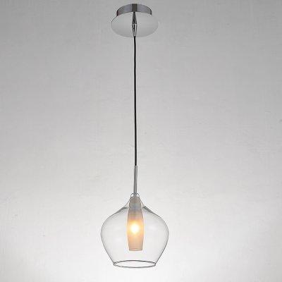Lightstar Tinto 803041 Светильник подвеснойОдиночные<br><br><br>Тип товара: Светильник подвесной<br>Тип цоколя: G9<br>Количество ламп: 1<br>MAX мощность ламп, Вт: 40<br>Размеры: D 160 H 1200<br>Цвет арматуры: серебристый