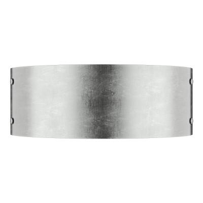 Lightstar CUPOLA 803524 Светильник настенный браСовременные<br><br><br>Тип лампы: Накаливания / энергосбережения / светодиодная<br>Тип цоколя: E14<br>Количество ламп: 2<br>Ширина, мм: 330<br>MAX мощность ламп, Вт: 40<br>Размеры: H120  W330  отступ<br>Расстояние от стены, мм: 90<br>Высота, мм: 120<br>Оттенок (цвет): СОСТАРЕННОЕ СЕРЕБРО<br>Цвет арматуры: Золотой