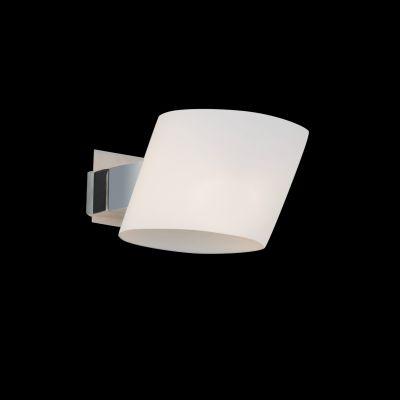 Lightstar Simple Light 803610 Светильник настенный браХай-тек<br><br><br>S освещ. до, м2: 2<br>Тип цоколя: G9<br>Количество ламп: 1<br>Ширина, мм: 120<br>MAX мощность ламп, Вт: 40<br>Размеры: W 120 L 140 H 100<br>Длина, мм: 140<br>Высота, мм: 100<br>Оттенок (цвет): белый<br>Цвет арматуры: серебристый