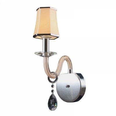 Светильник Colosseo 80368/1WКлассические<br><br><br>S освещ. до, м2: 4<br>Тип лампы: накаливания / энергосбережения / LED-светодиодная<br>Тип цоколя: E14<br>Количество ламп: 1<br>Ширина, мм: 160<br>MAX мощность ламп, Вт: 60<br>Расстояние от стены, мм: 290<br>Высота, мм: 430
