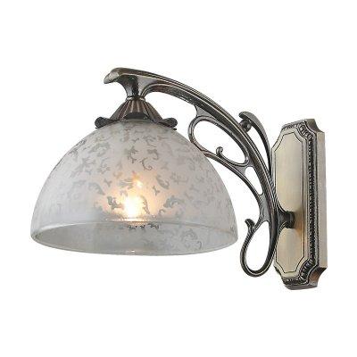 Светильник Colosseo 80373/1WКлассические<br><br><br>S освещ. до, м2: 4<br>Тип лампы: накаливания / энергосбережения / LED-светодиодная<br>Тип цоколя: E27<br>Количество ламп: 1<br>Ширина, мм: 170<br>MAX мощность ламп, Вт: 60<br>Расстояние от стены, мм: 260<br>Высота, мм: 250<br>Цвет арматуры: бронзовый