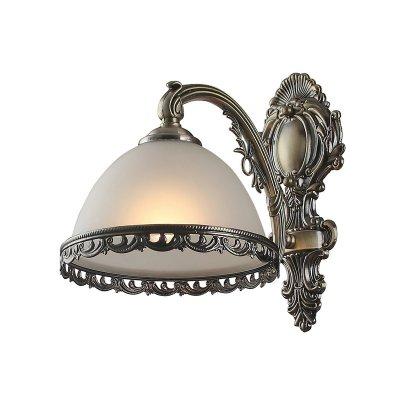 Светильник Colosseo 80377/1WКлассика<br><br><br>S освещ. до, м2: 4<br>Тип лампы: накаливания / энергосбережения / LED-светодиодная<br>Тип цоколя: E27<br>Количество ламп: 1<br>Ширина, мм: 180<br>MAX мощность ламп, Вт: 60<br>Расстояние от стены, мм: 270<br>Высота, мм: 270<br>Цвет арматуры: бронзовый