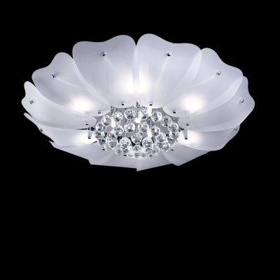 Lightstar Lobo 804040 ЛюстраПотолочные<br><br><br>Установка на натяжной потолок: Ограничено<br>S освещ. до, м2: 24<br>Крепление: Планка<br>Тип товара: Люстра<br>Тип лампы: галогенная / LED-светодиодная<br>Тип цоколя: G9<br>Количество ламп: 9<br>MAX мощность ламп, Вт: 40<br>Диаметр, мм мм: 700<br>Размеры: D660 H200<br>Высота, мм: 210<br>Оттенок (цвет): белый<br>Цвет арматуры: серебристый