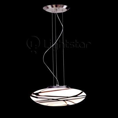 Lightstar SIMPLE LIGHT 804131 Люстра подвеснаяПодвесные<br><br><br>Установка на натяжной потолок: Да<br>S освещ. до, м2: 8<br>Крепление: Планка<br>Тип товара: Люстра подвесная<br>Тип лампы: накаливания / энергосбережения / LED-светодиодная<br>Тип цоколя: E14<br>Количество ламп: 3<br>MAX мощность ламп, Вт: 40<br>Диаметр, мм мм: 500<br>Размеры: D 500 H 1200<br>Высота, мм: 1200<br>Оттенок (цвет): белый<br>Цвет арматуры: серый
