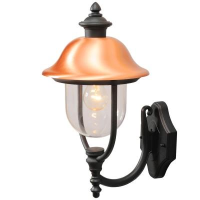 Светильник влагозащищенный Mw light 805020101 ДубайНастенные<br>Описание модели 805020101: Уличные светильники из коллекции «Дубай» предназначены для освещения экстерьера загородного дома. Простой и вместе с тем продуманный дизайн, приятная цветовая гамма и оригинальная форма создадут уютную атмосферу. Чёрное металлическое основание удачно сочетается с прозрачным плафоном из акрила, а завершающим штрихом и главной изюминкой является декоративный элемент из меди, который удачно выделяет светильник среди других моделей. Все светильники «Дубай» имеют высокую степень IP защиты от влаги и пыли.<br><br>S освещ. до, м2: 4<br>Тип лампы: накаливания / энергосбережения / LED-светодиодная<br>Тип цоколя: Е27<br>Количество ламп: 1<br>Ширина, мм: 250<br>MAX мощность ламп, Вт: 100<br>Длина, мм: 480<br>Высота, мм: 330<br>Поверхность арматуры: матовый<br>Цвет арматуры: черный<br>Общая мощность, Вт: 100