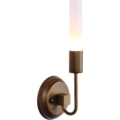 Светильник Divinare 8052/04 AP-1Модерн<br><br><br>Цветовая t, К: WW - теплый белый 2700-3000 К<br>Тип цоколя: G9<br>Количество ламп: 1<br>Ширина, мм: 130<br>MAX мощность ламп, Вт: 33<br>Диаметр, мм мм: 110<br>Высота, мм: 350<br>Цвет арматуры: бронзовый