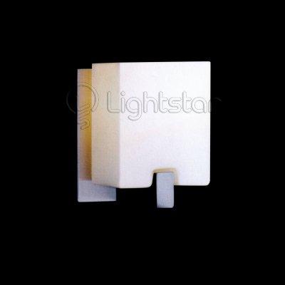 Lightstar SIMPLE LIGHT 805610 Светильник настенный браХай-тек<br>Распродажа остатков 2 штуки!<br><br>S освещ. до, м2: 2<br>Тип товара: Светильник настенный бра<br>Скидка, %: 10<br>Тип лампы: накаливания / энергосбережения / LED-светодиодная<br>Тип цоколя: E14<br>Количество ламп: 1<br>Ширина, мм: 100<br>MAX мощность ламп, Вт: 40<br>Размеры: W 100 H 150<br>Расстояние от стены, мм: 120<br>Высота, мм: 150<br>Оттенок (цвет): белый<br>Цвет арматуры: серый